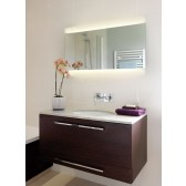 Astro Lighting Fuji 950 Illuminated Bathroom Mirror - 2 Light, Mirror