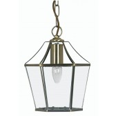 Dulverton Lantern Light Antique brass