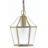 Dulverton Lantern Light Polished Brass