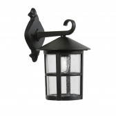 Bedale Exterior Wall Light - Black, Die Cast Aluminium, IP44