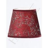 Franklite 1082 Burgundy Silk Candle Shade