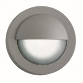 Led Outdoor Round Bulkhead, Grey
