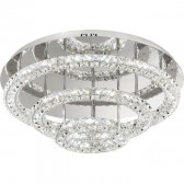 LED-WL chrome/crystal'TONERIA'