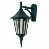 Oaks Lighting 191 DN BK Cardinal Down Black