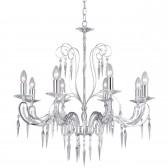 Antoinette Chandelier - 8 Arm Crystal