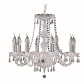 Hale Crystal Chandelier - 8 Arm
