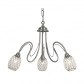 Askas Ceiling Light - 3 Light, Antique Chrome