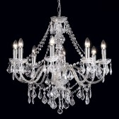 Magnificent Chandelier - 8 Light Clear