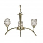 Koge Ceiling Light - 3 Light, Antique Brass