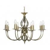 Oaks Lighting 3380/8 AB Tuscany Ses Pendant