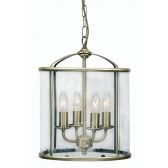 Oaks Lighting 351/4 AB Fern Lantern 4