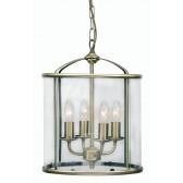 Oaks Lighting 351/4 AB Fern Lantern 4