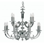 Oaks Lighting 370/8+4 CH Dorchester 12 Light Pendant