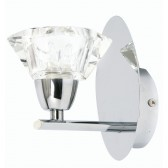 Oaks Lighting 3921/1 CH Alamas Chrome Wall Light
