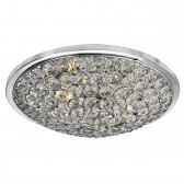 Orion 3 Light Chrome Flush/Clear Crystal Buttons