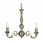 Oaks Lighting 4226/3 AB Amaro 3 X 60 Bc Antique Brass