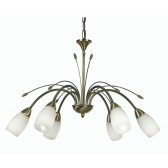 Antwerp Decorative Ceiling Light - 6 Light, Antique Brass