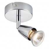 Amalfi Single 50W - Polished Chrome Finish