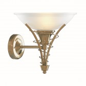 Linea Wall Light - antique brass