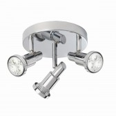 Torch LED Round Plate - 3 Light
