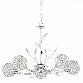 Bellis II - 5 Light Chrome Pendant