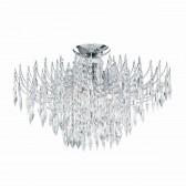 Waterfall Ceiling Light - Crystal & Chrome