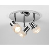 Astro Lighting Tokai Spotlight - 3 Light, Polished chrome