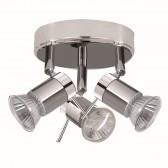 Aries Bathroom Light - Spot Plate Chrome