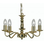 Nador Decorative Ceiling Light - 5 Light, Gold