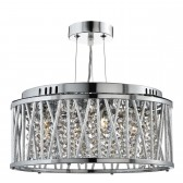 Rojavita Ceiling Light - 3 Light, Polished Chrome