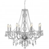 Marie Therese Chandelier - 8 Arm Chrome