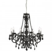 Marie Therese Chandelier - Charcoal Grey