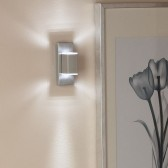 Modern LED Wall Light - Stainless Steel