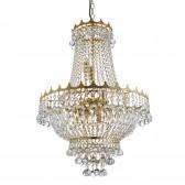 Versailles Chandelier - Gold & Crystal