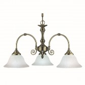 Virginia Ceiling Light - antique 3 light