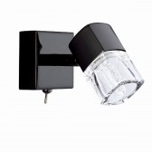 Blocs Wall Light - Black Chrome