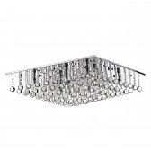 Abacus 8 light flush Ceiling light