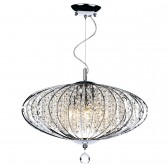Adriatic 5 Light Ceiling Pendant - Polished Chrome