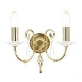Elstead AG2 POL BRASS Aegean 2 - Light Wall Light Polished Brass