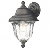 Aldgate Wall Light - IP44 Black/Gold