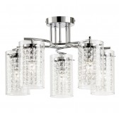 Alda 5-Light Semi Flush 40W