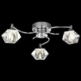 Arietta 3 Light Flush Fitting