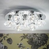 Arietta 7 Light Ceiling Plate