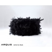 Diyas Arqus Feather Shade Black 250mm