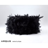 Diyas Arqus Feather Shade Black 330mm