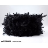 Diyas Arqus Feather Shade Black 410mm