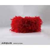 Diyas Arqus Feather Shade Red 250mm