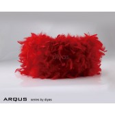 Diyas Arqus Feather Shade Red 330mm