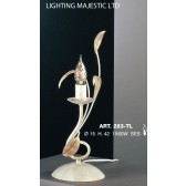 JH Miller - Isabella Table Lamp - Ivory White