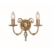 Elstead ART2 AGD BRASS Artisan 2 - Light Wall Light Aged Brass
